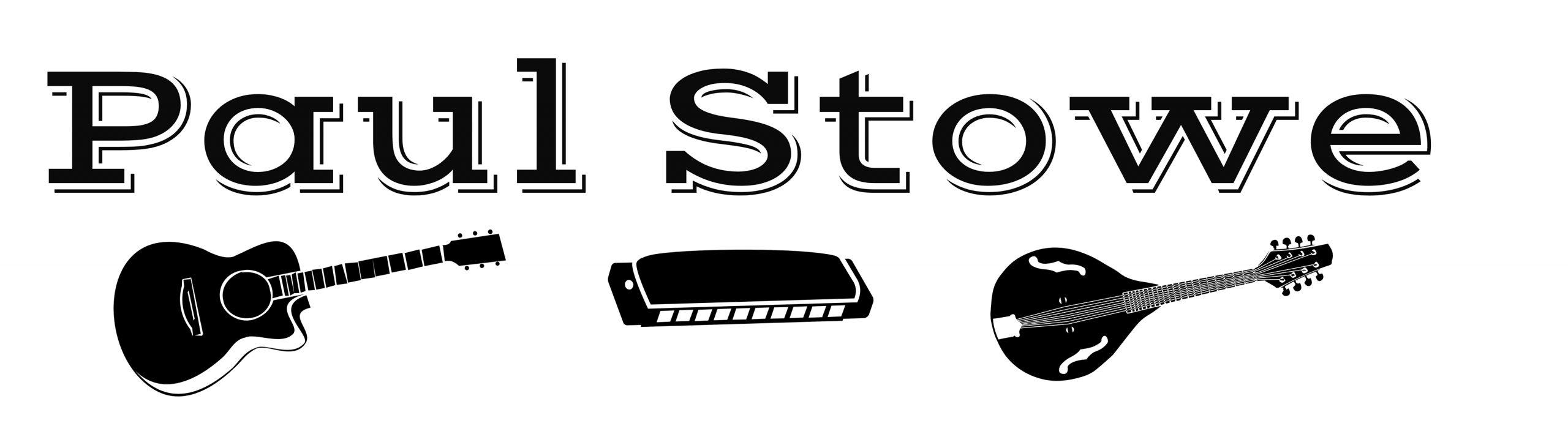 Logo for Paul Stowe (USA) Irish & American Folk, Blues, 60s & 70s Songs
